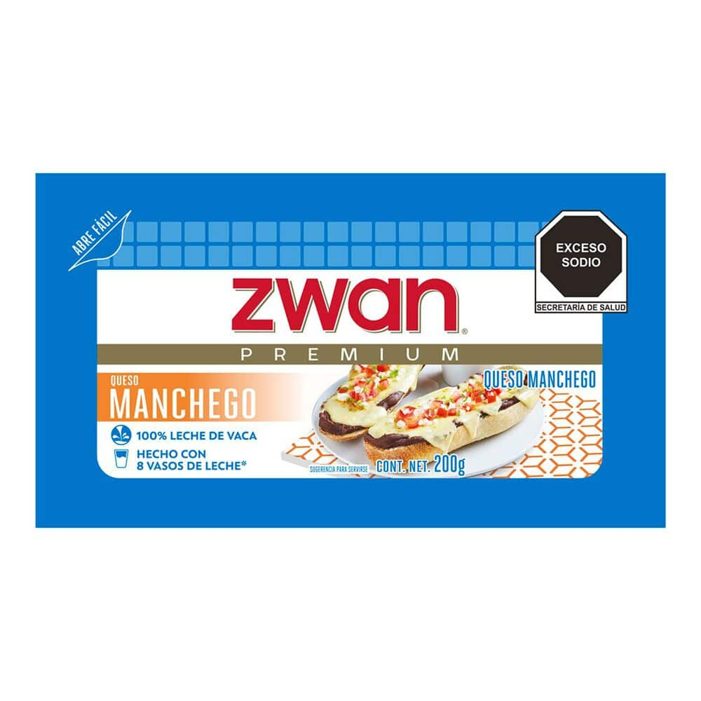 Queso Manchego Zwan 200 Gr image number 0