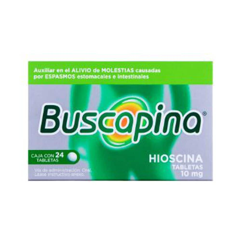 Buscapina 10 mg Tab con 24 Pzas image number 0