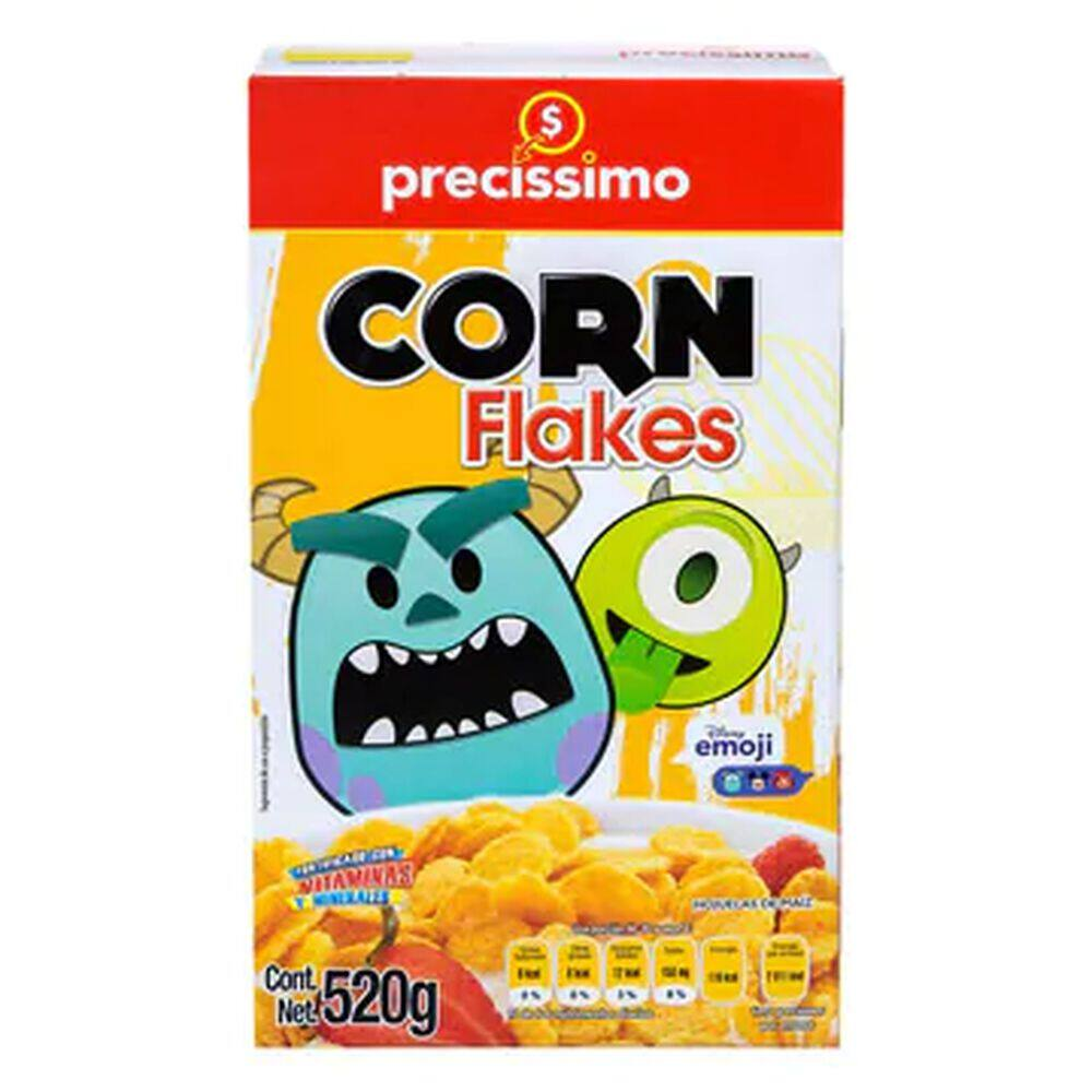 Cereal Precíssimo Corn Flakes 520 Gr image number 0
