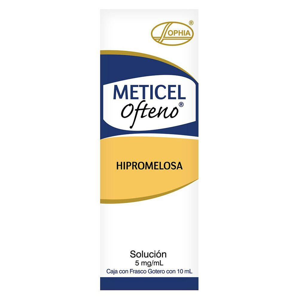 Meticel Ofteno 5 mg Solución 10 ml image number 0