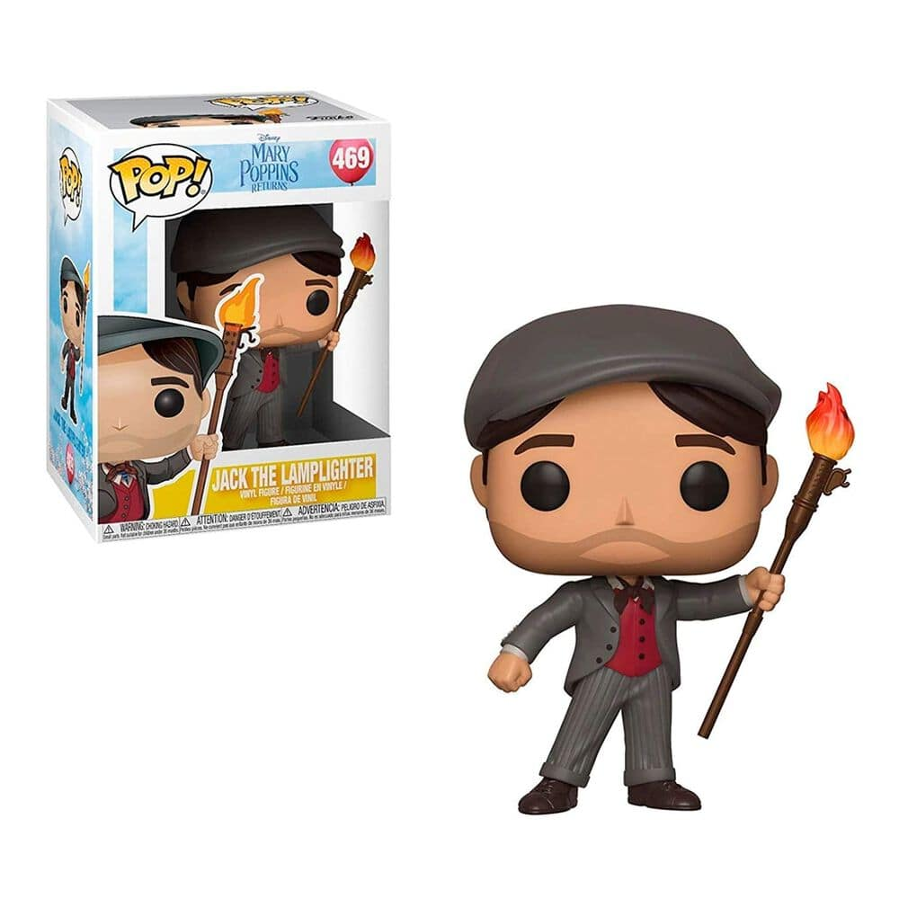 Funko Pop Disney Jack The Lamplighter Mary Poppins 2 image number 0