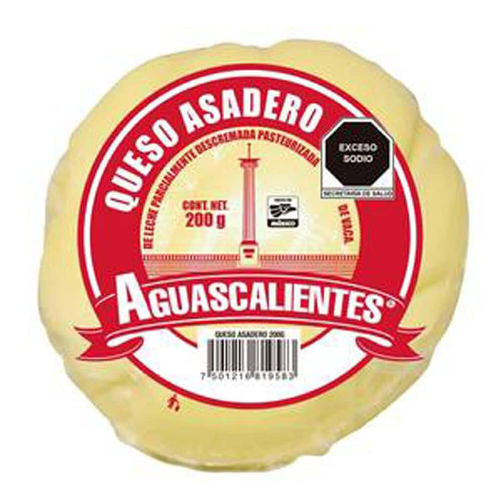 Queso Aguascalientes Asadero 200 gr image number 0