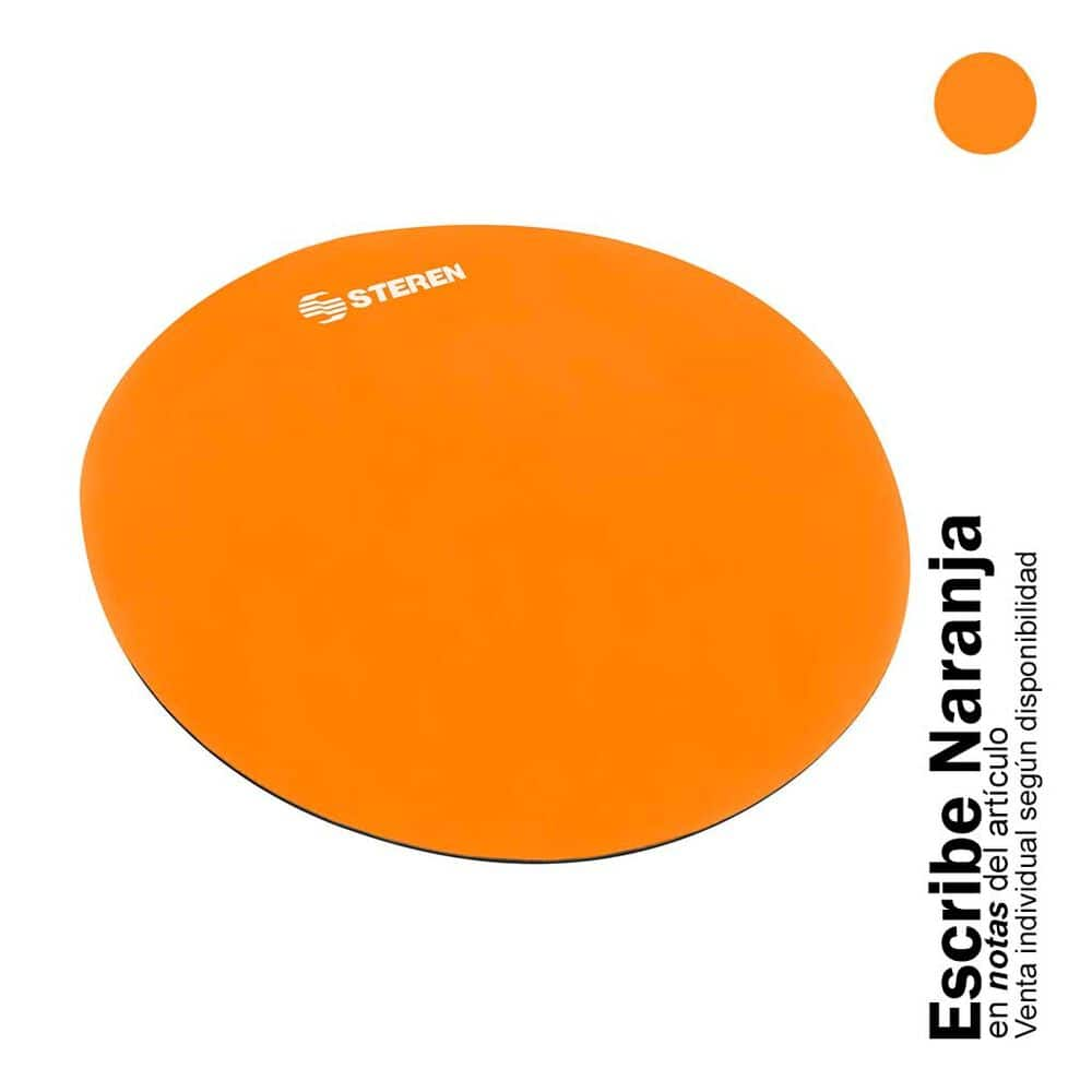 Mouse Pad Steren COM-039 Redondo Multicolor image number 2