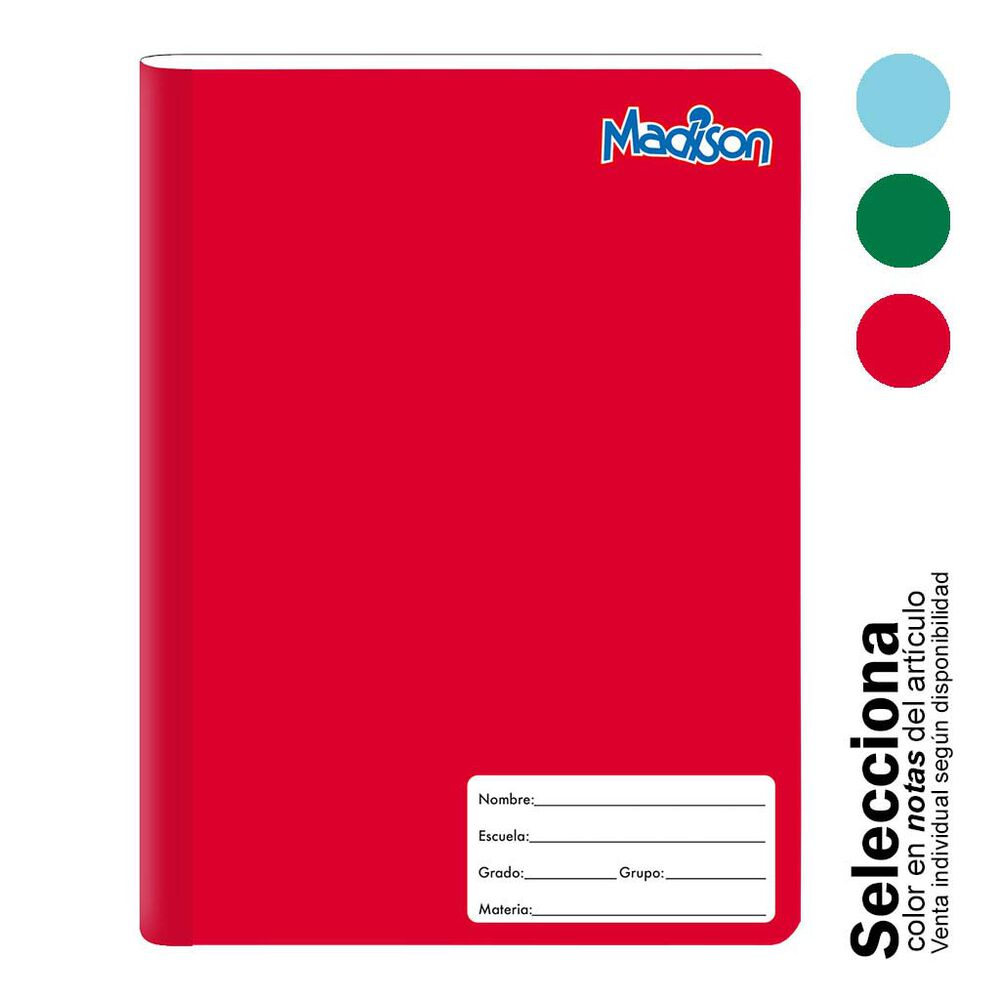 Cuaderno Profesional Norma Madison Cuadro 5mm 100 Hj image number 1