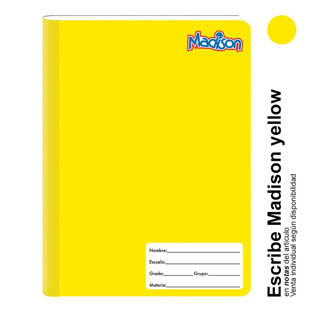Cuaderno Profesional Norma Madison Cuadro 7mm 100 Hj image number 2