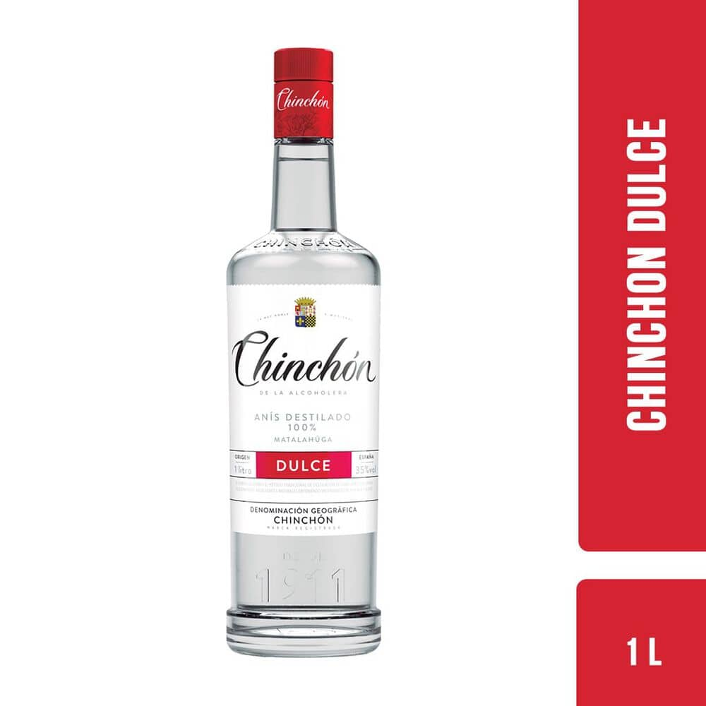 Licor Anis Chinchon Dulce 1 Lt image number 0