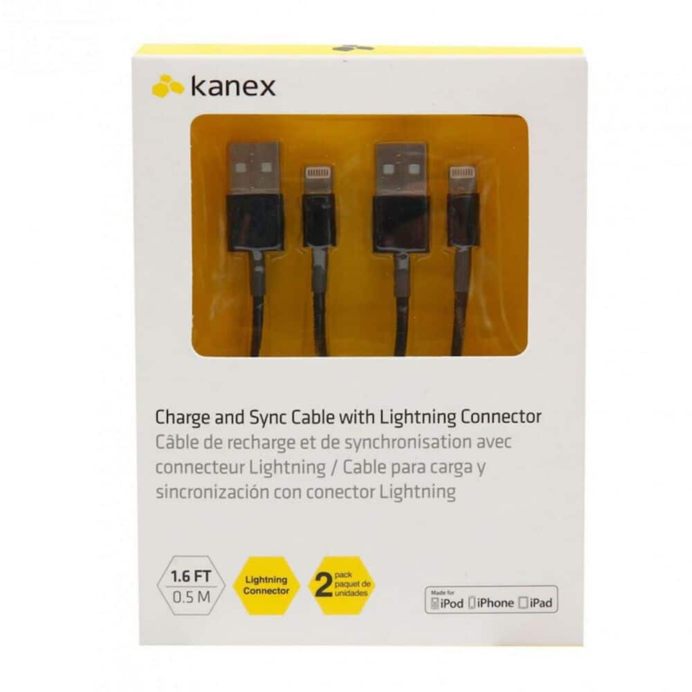 Cable Kanex Usb K8PIN05MB Negro image number 1