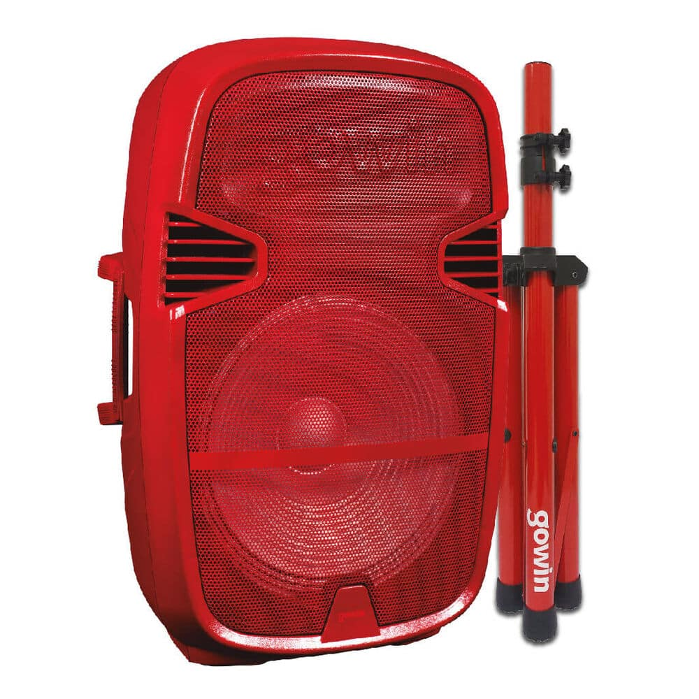 Bafle Gowin Red-791 Bluetooth 15 Pulg image number 0