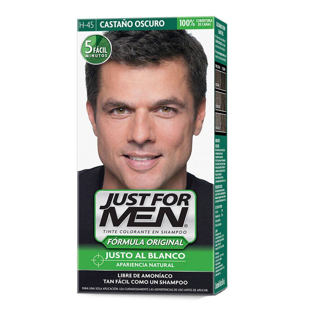 Tinte Just For Men H-45 Castaño Oscuro image number 2