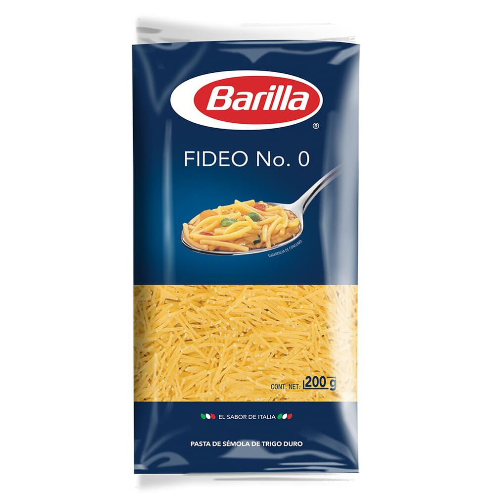 Fideo No. 0 Barilla 200 Gr image number 0