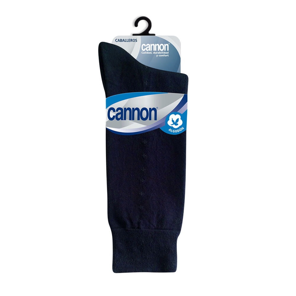 CALCETIN CANNON ALGODON CASUAL MARINO PZ image number 0