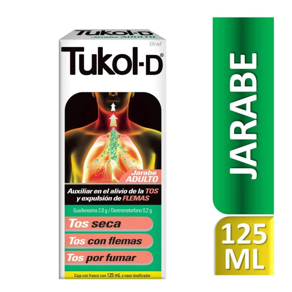 Tukol D 2.00/0.200g Ad Jbe con 125 ml image number 0