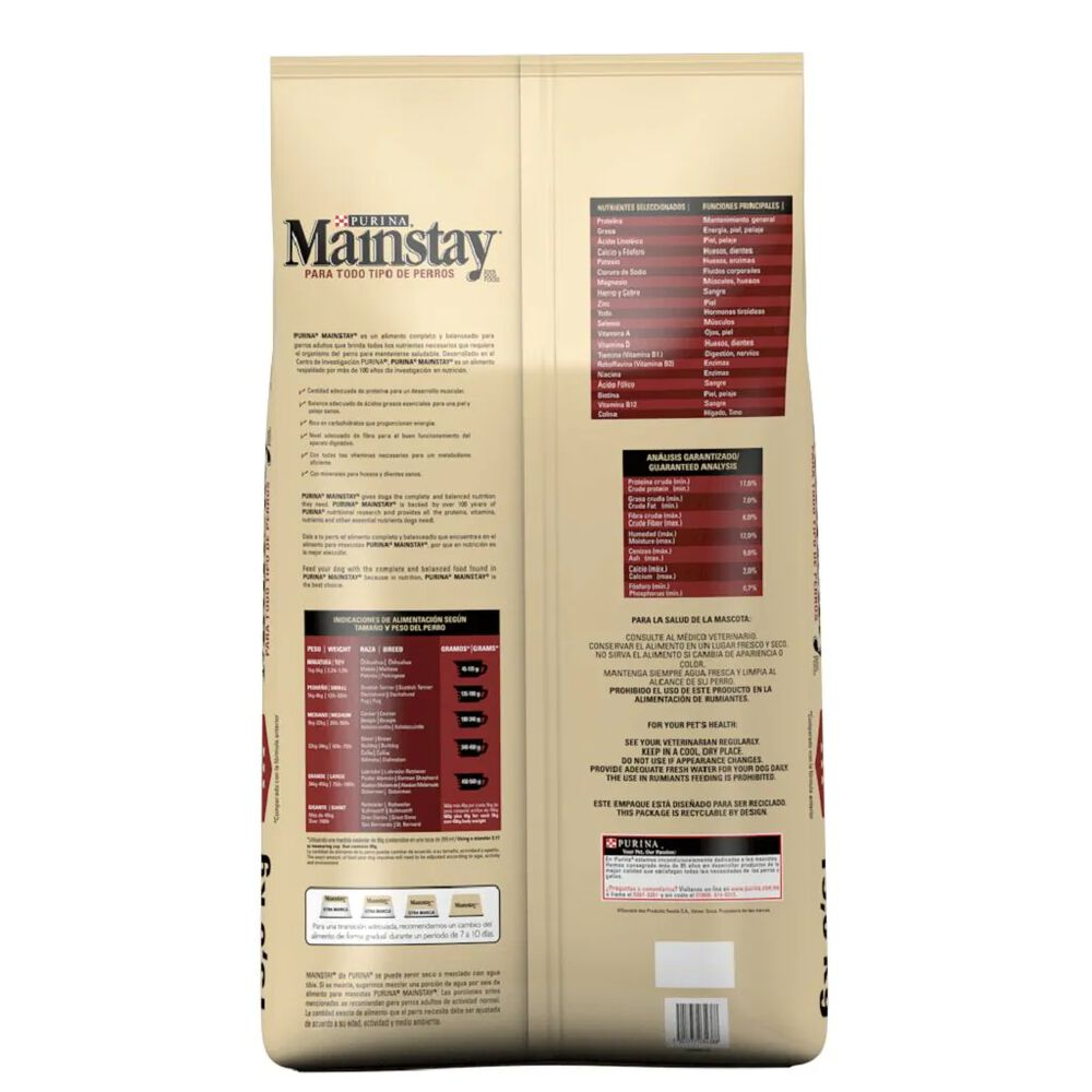 Alimento Para Perro Mainstay Adulto 15 Kg image number 1