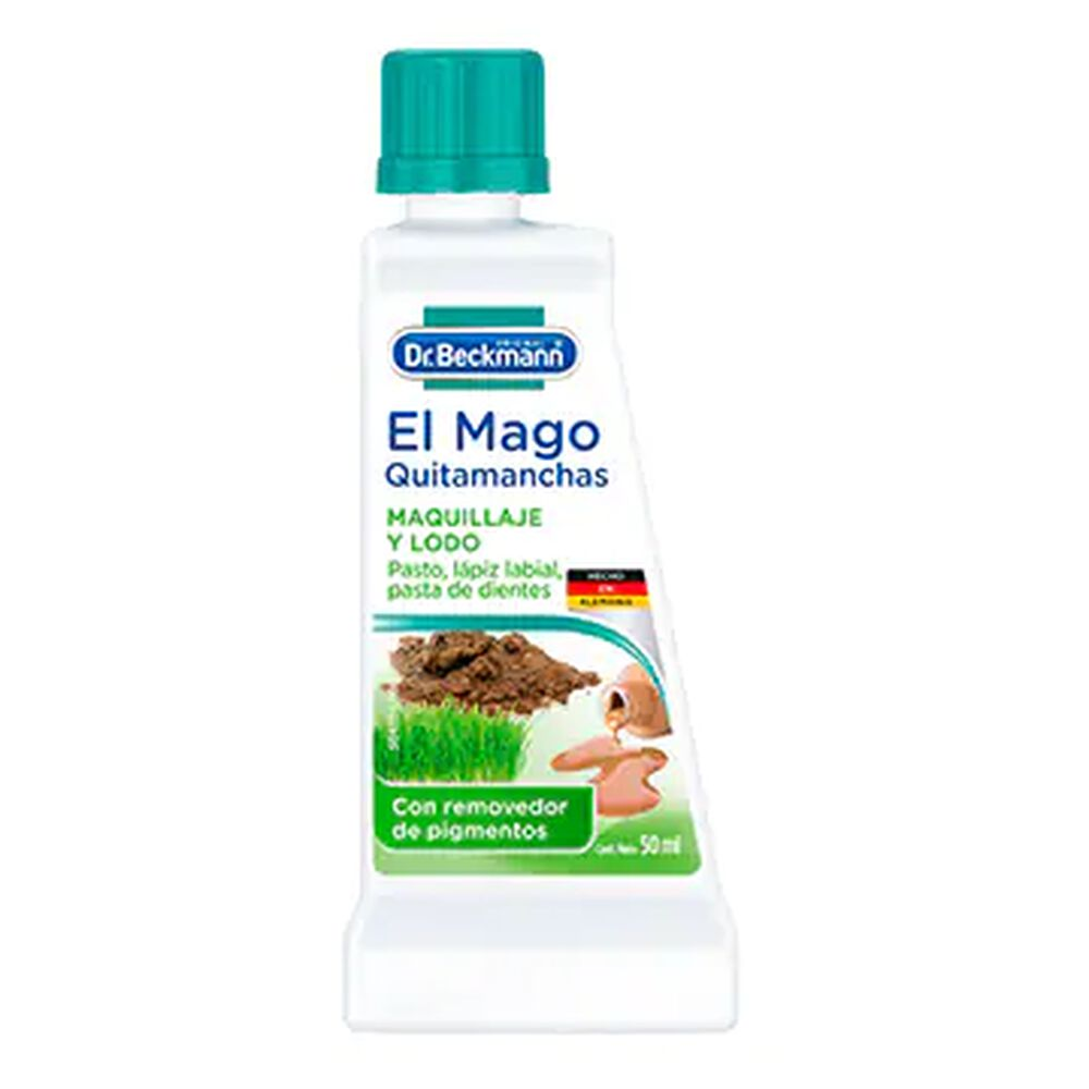 Quitamanchas Dr Beckmann Maquillaje y Lodo 50 ml image number 0