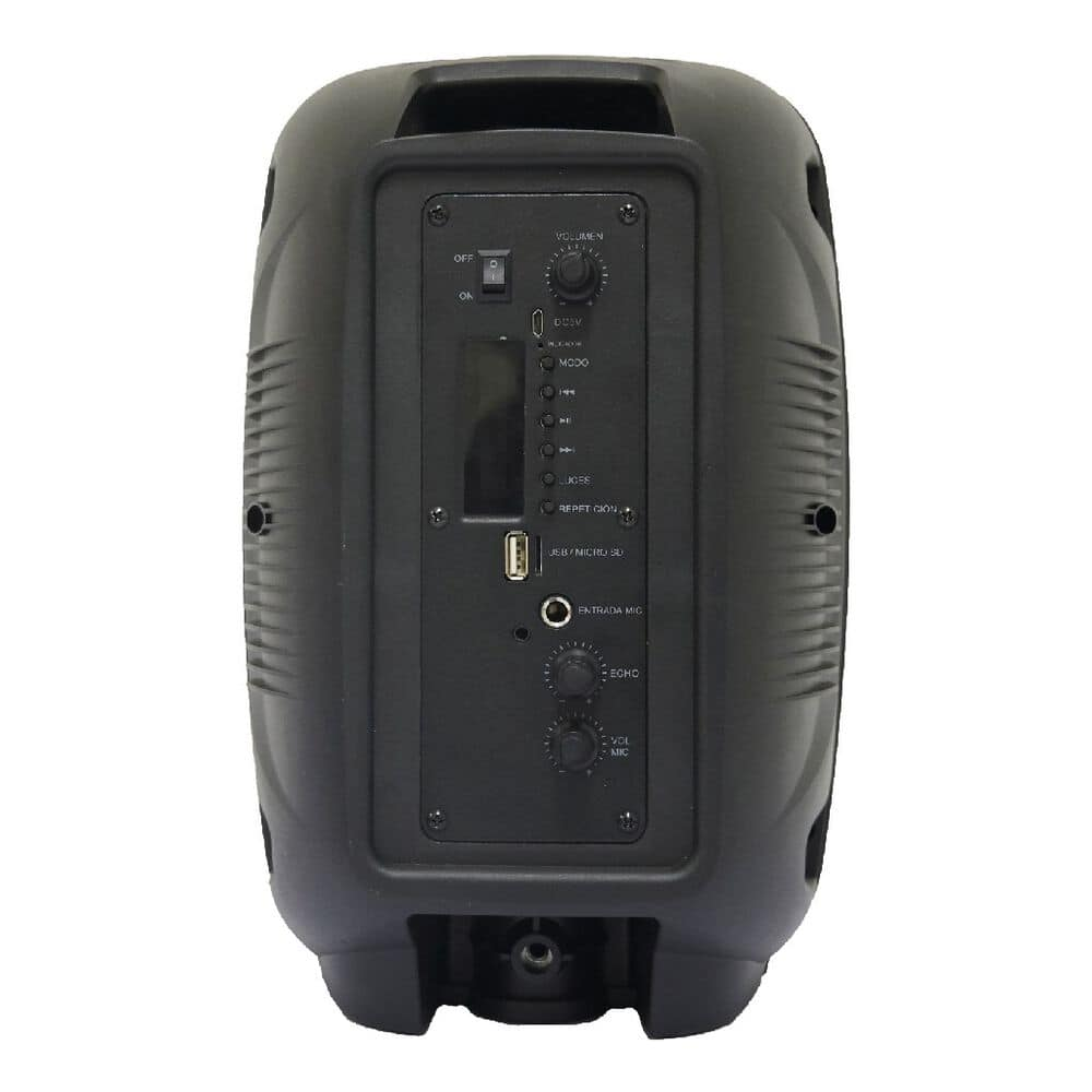 Bafle 8 pulg Bluetooth Gowin Recargable Negro image number 2