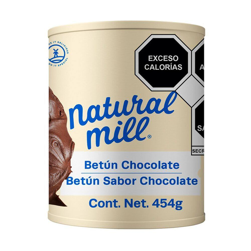 Betún Natural Mill sabor chocolate 454 g image number 0