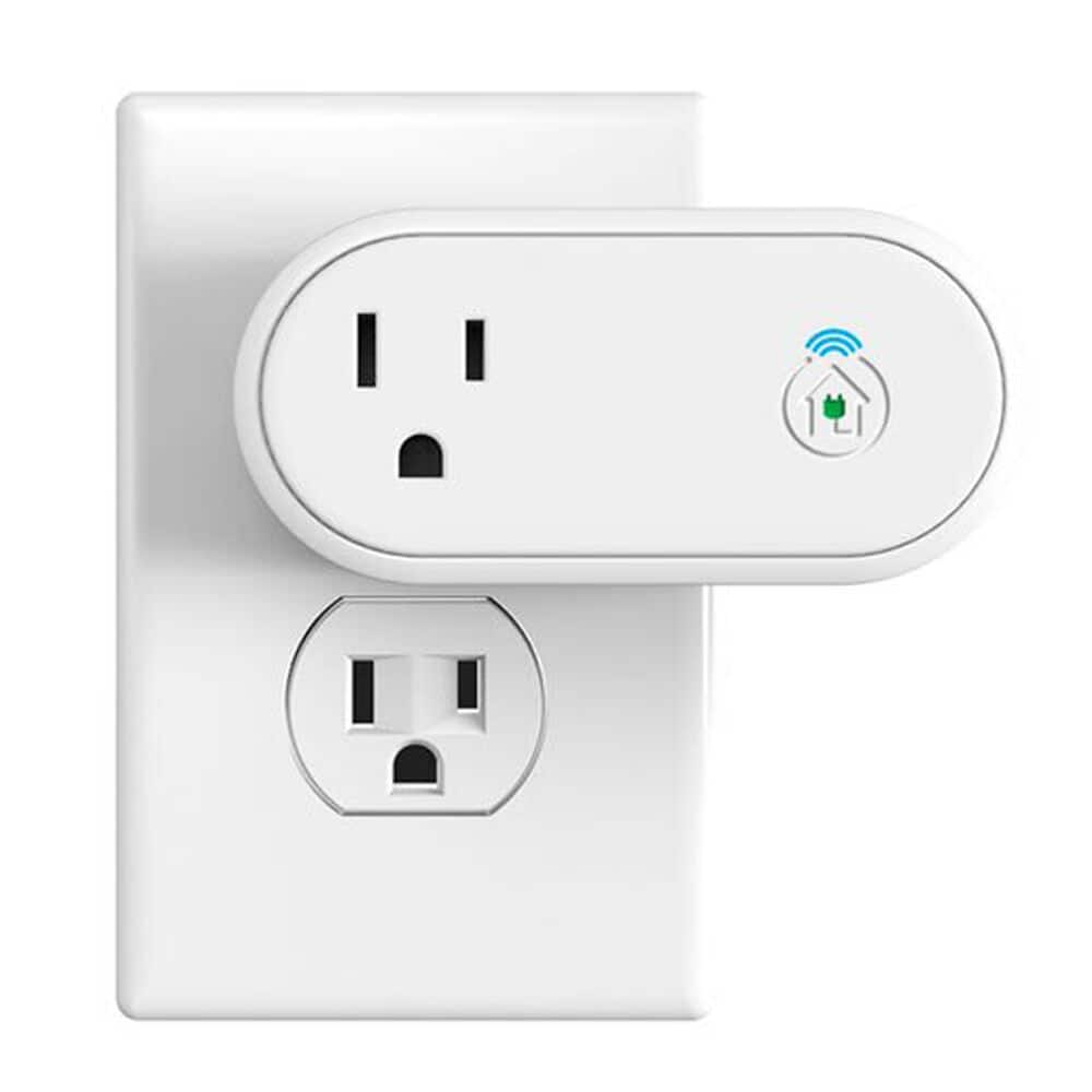 Incipio CommandKit Wireless Smart Outlet With Metering 110 a 220 V White image number 1