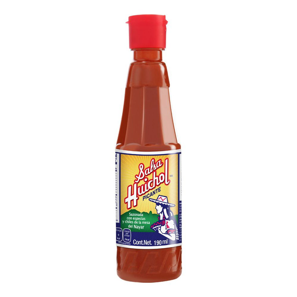 Salsa Huichol Picante 190 Ml image number 0