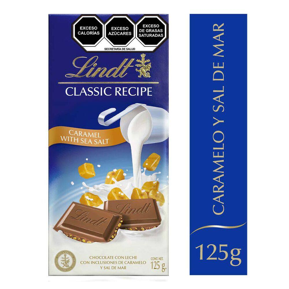 Chocolate Classic Recipe Caramelo Lindt 125 Gr image number 0